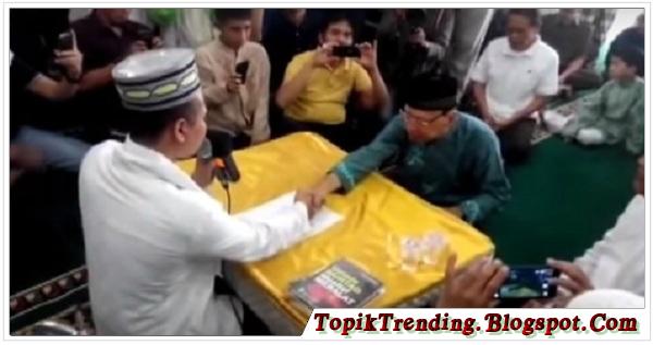 Alhamdulillah, Pendeta Senior Jhony Mema Masuk Islam