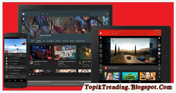 Kabar Gembira, Youtube Gaming Telah Diluncurkan