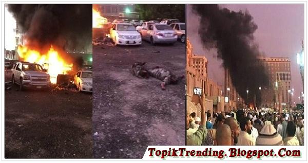 Innalillahi, Bom Meledak di Dekat Kompleks Masjid Nabawi Madinah