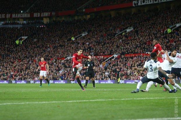 Manchester United vs Tottenham Hotspur 1-0 Goal & Highlights Video