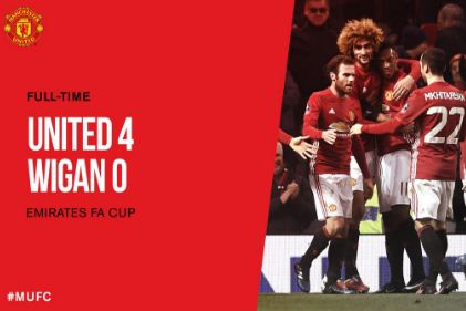 Video Gol Manchester United vs Wigan Athletic 4-0