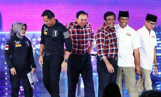 Hasil Quick Count Pilkada DKI Jakarta 2017: Ahok-Anies ke Putaran Kedua