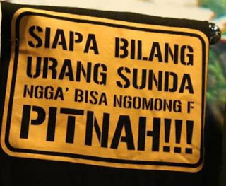 Alasan Orang Sunda Tidak Bisa Melafalkan Huruf F (Ef)