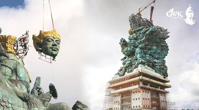 Monas Akan Segera Dilampaui Oleh Patung Garuda Wisnu Kencana Di Bali