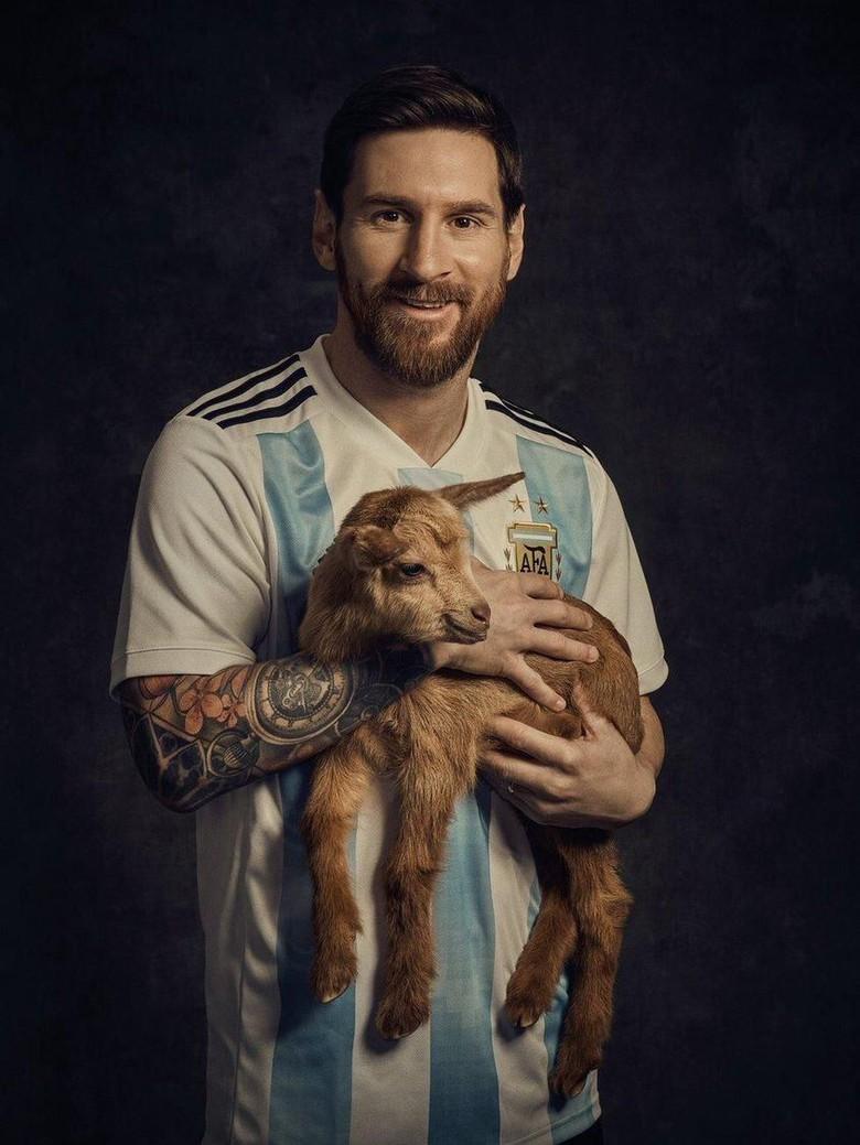 Messi Menolak Mendapatkan Gelar Dengan Sebutan GOAT