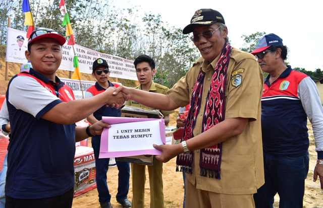 Bupati Sintang Buka Kegiatan Pencanangan Bbgrm Ke-15 Tingkat Kab.Sintang 2018