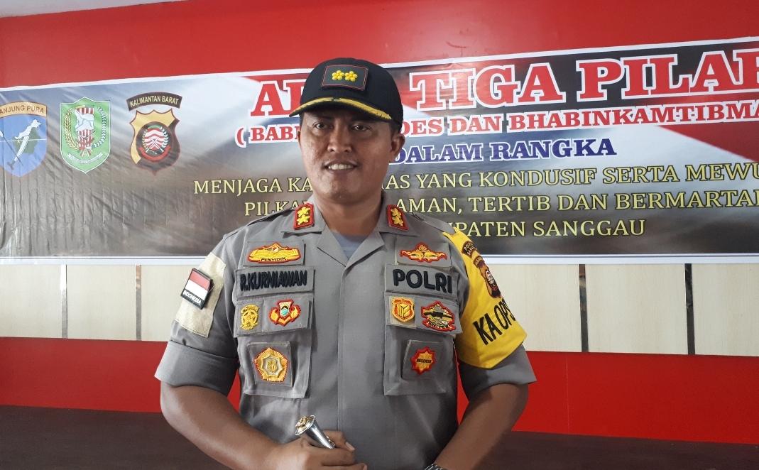 Kapolres Sanggau : Proses Pemilihan Telah Usai
