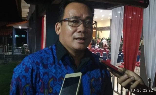 Tanggapan Wakil Ketua DPRD kabupaten Sintang Usai Acara Ramah Tamah Sertijab Danrem 121 Abw