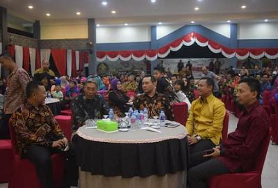 Ketua DPRD Sintang Hadir Dalam Acara Malam Pisah Sambut Jabatan Kapolres Sintang