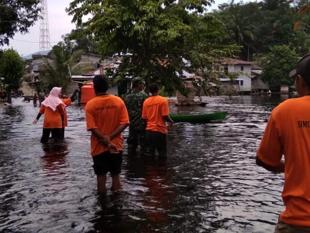 3 Rt di Desa Balai  Sebut Masih Direndam Banjir