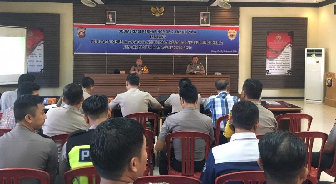 Sosialisasi dan Pelatihan Aplikasi SMK Online Polres Melawi