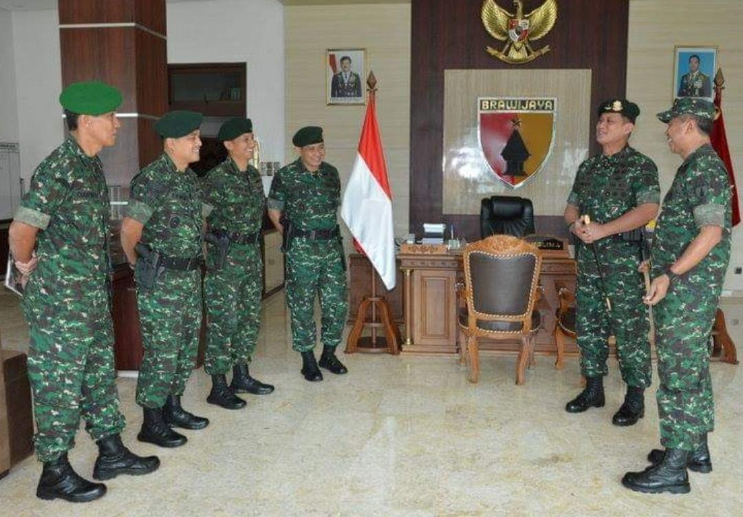 Tingkatkan Sinergitas, Pangdivif 2 Kostrad Kunjungi Mapolda Jatim, Kodam V/Brawijaya dan PT. Jangkar Nusantara Megah