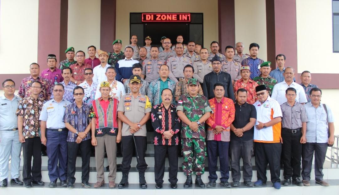 Polres Sanggau menggelar Rapat Koordinasi Lintas Sektoral Menjelang pelaksanaan tahun baru Imlek 2570 dan Cap Go Meh