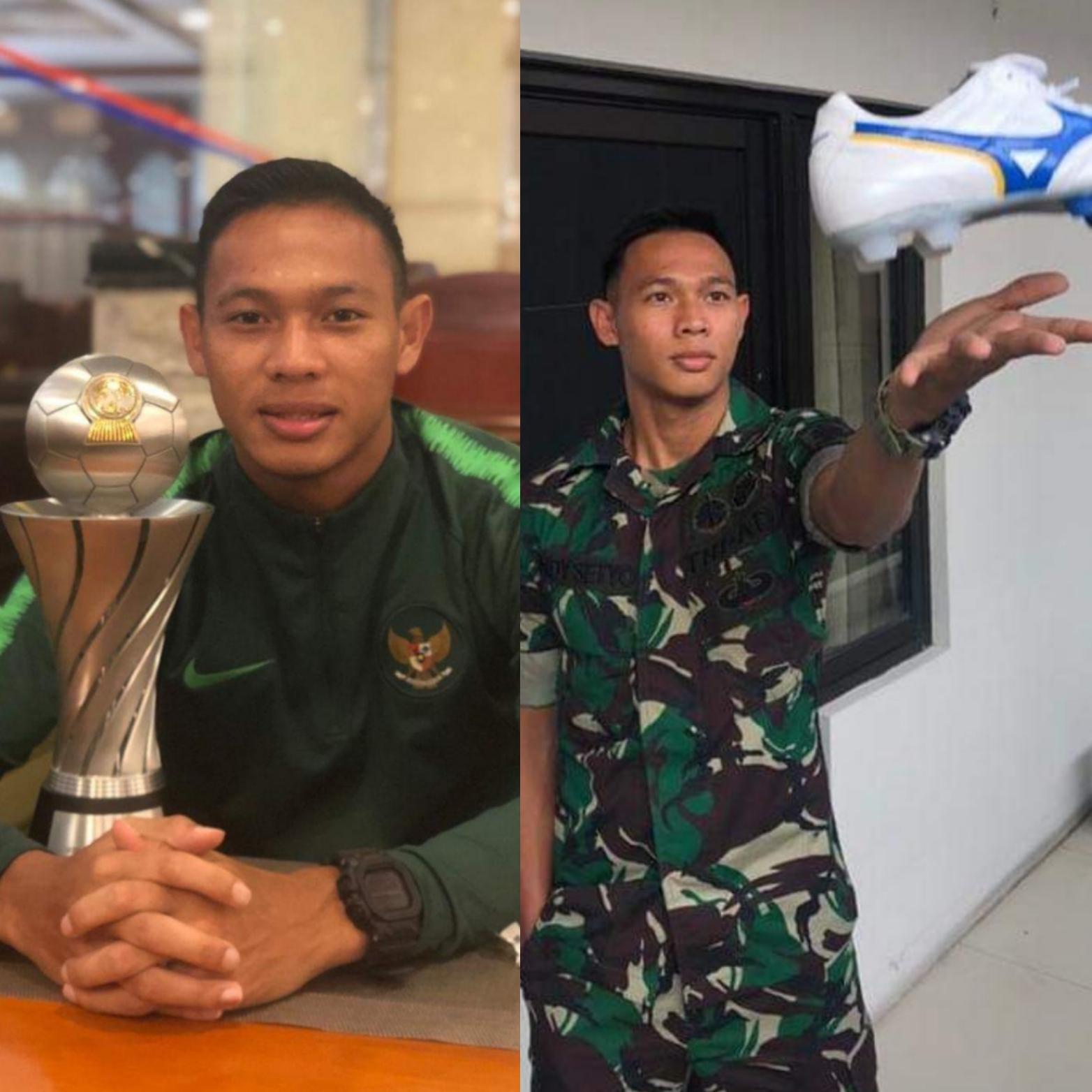 Prajurit Kostrad Jadi Kapten Timnas Timnas U-22 dan Menjuarai Piala AFF 2019
