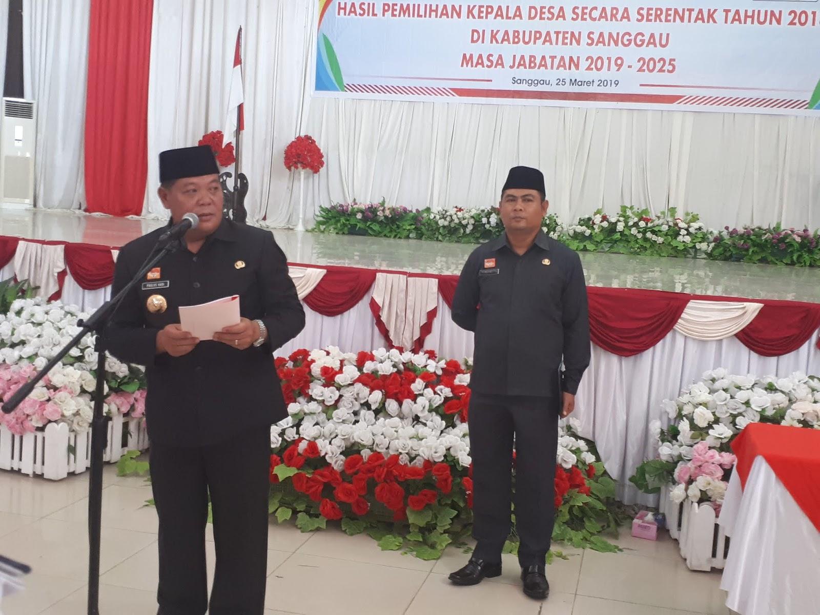 Bupati Sanggau : Jangan ada Dendam Politik