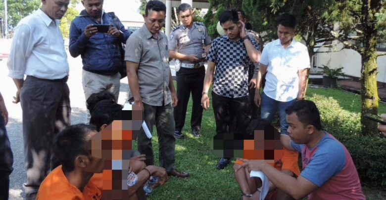 Misteri Kematian HS terungkap,empat orang diduga pelaku ditangkap