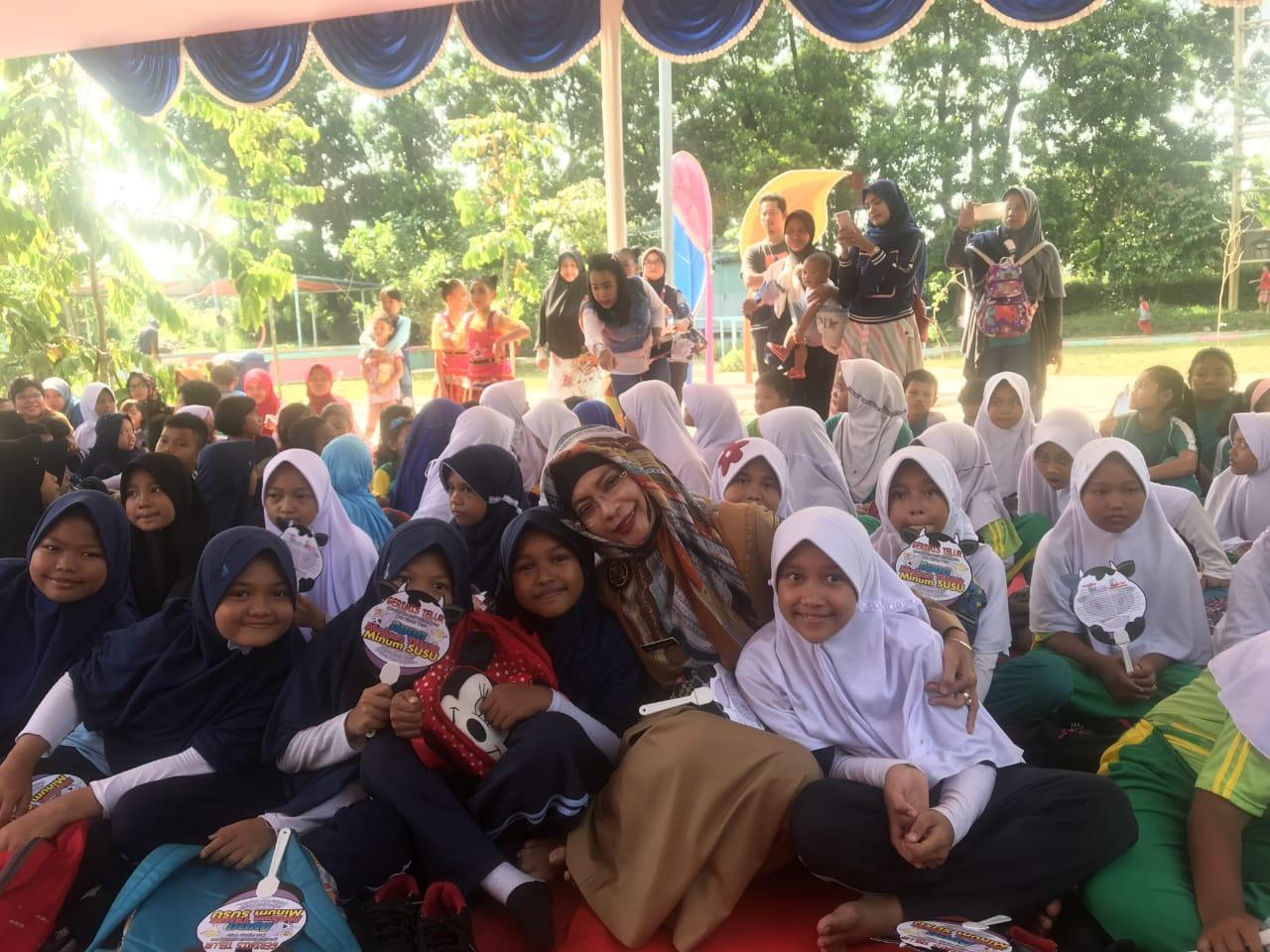 Diah Sadiah : Sebanyak 1000 Siswa SD Ikuti Gerimis