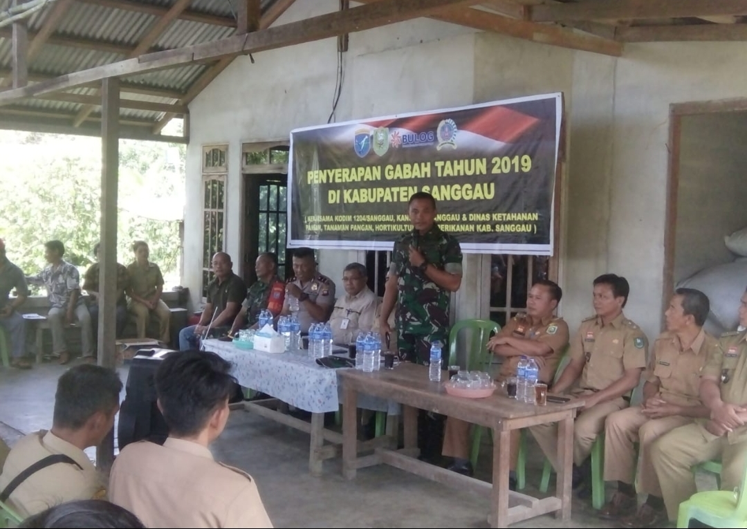 Desa Bantai,Bonti Serap Gabah 10 Ton