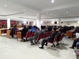 Paripurna Ke I Masa Persidangan II DPRD Sintang, Dalam Rangka Penyampaian LKPJ Tahun Anggaran 2018
