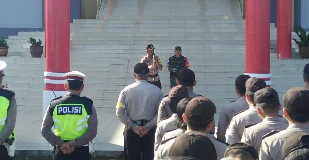 Sinergisitas TNI, Polri gelar persiapan pengamanan rapat sidang pleno tingkat Kabupaten