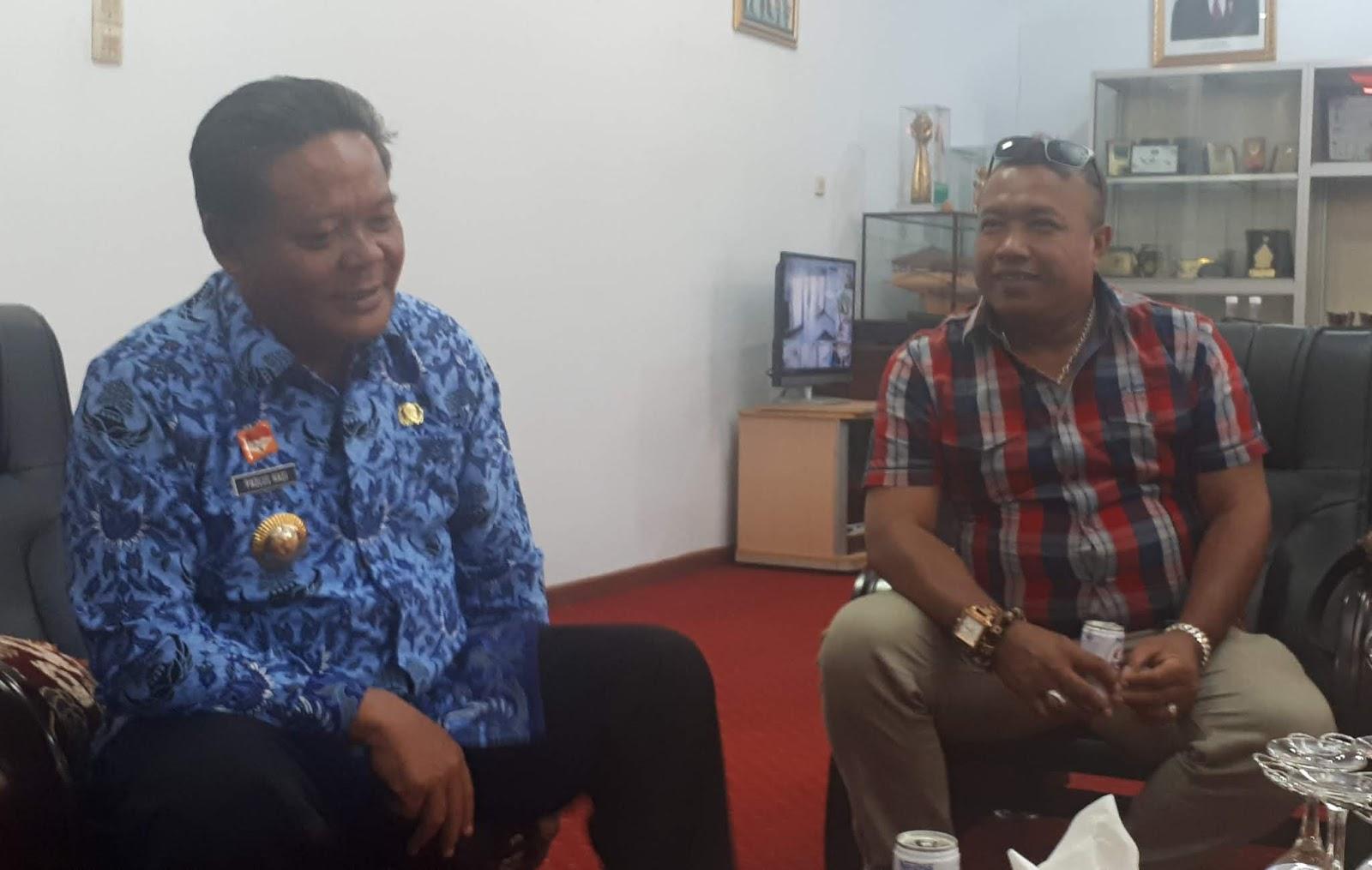 Willy jhin Kopi Dadu dapat apresiasi dari Bupati Sanggau
