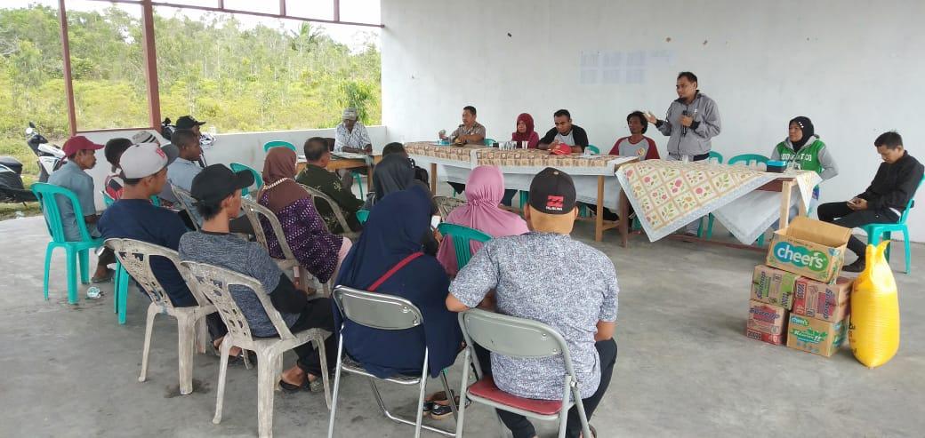 Jaga Kamtibmas di Wilayah Hukum Fakfak Satuan Binmas Polres Fakfak beri Sosialisai Kepada Masyarakat