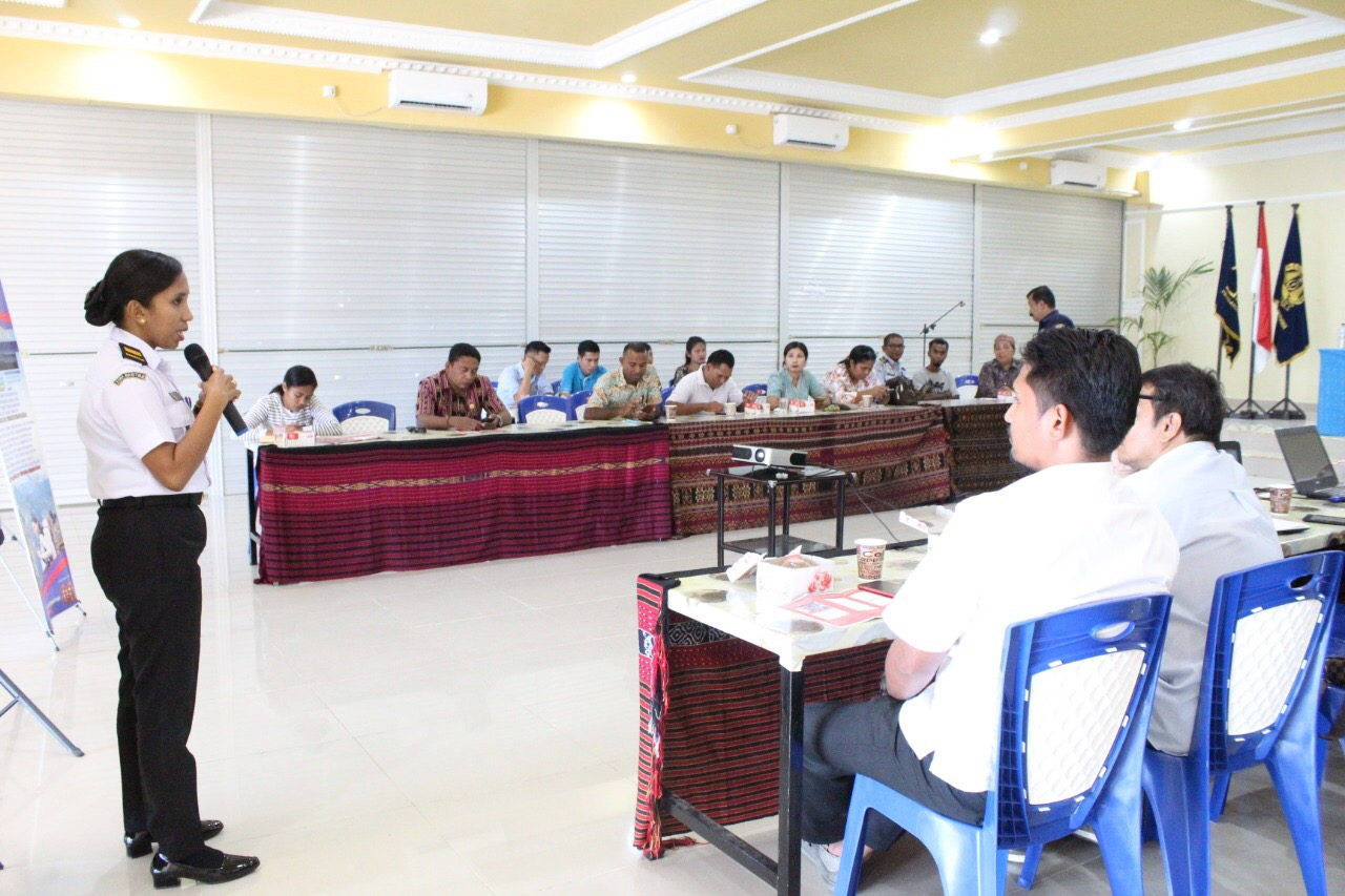 SPKKL Kupang Perkenalkan Bakamla dalam Sosialisasi Aplikasi MOKE di Maumere