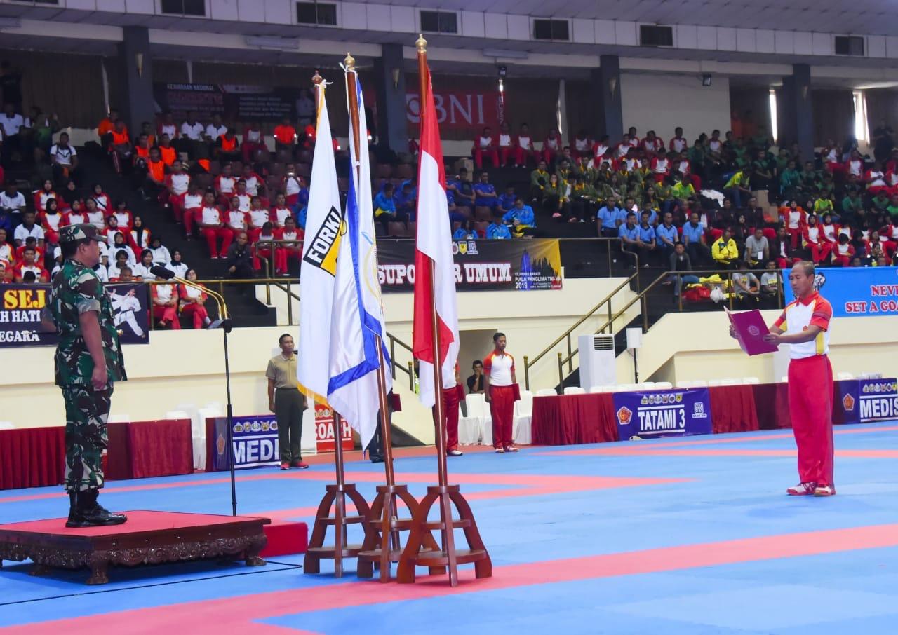 Panglima TNI :  Pertandingan Olahraga Mengandung Nilai-Nilai Kejuangan