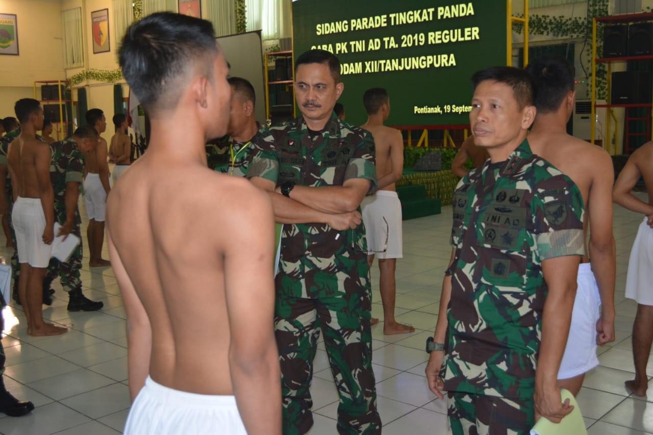 Peroleh Prajurit Unggul, Rekrutmen TNI AD Objektif dan Transparan
