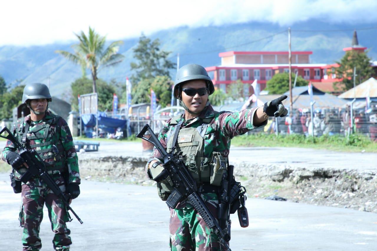 Masyarakat Wamena Kagum Dengan Latihan PPRC TNI