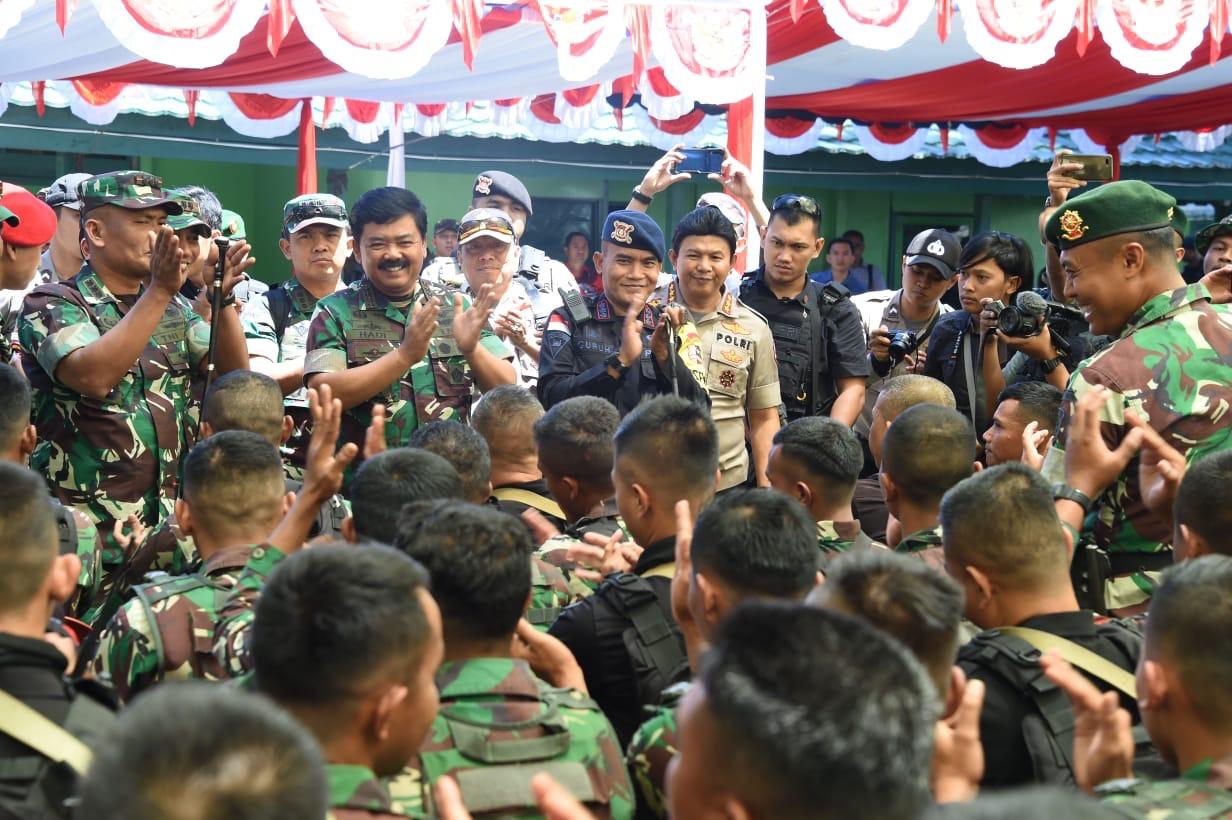 Panglima TNI: Sinergitas TNI-Polri Untuk Menjaga NKRI
