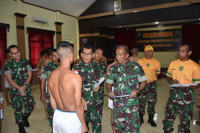 Korem 121/ABW Gelar Sidang Parade  Cata Perbatasan TNI AD Gelombang II TA. 2019