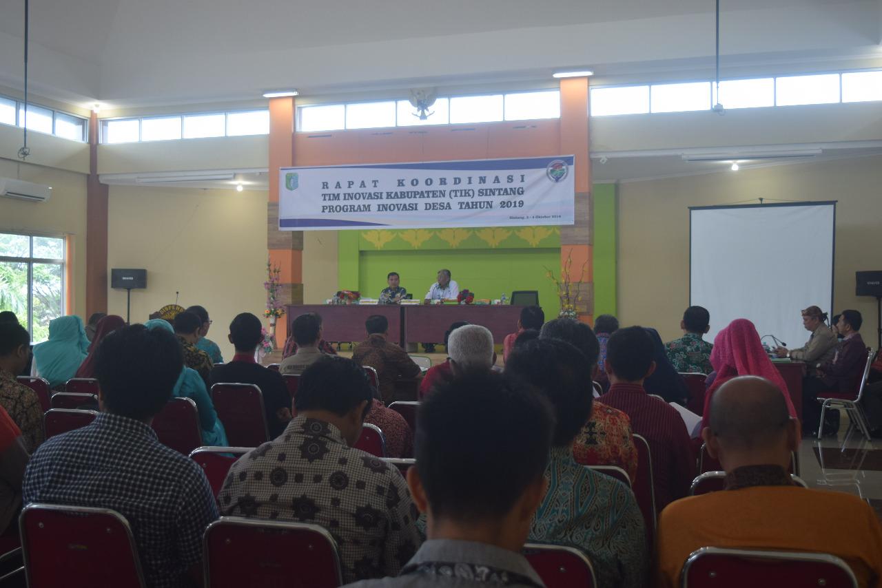 Jarot Buka Kegiatan Rakor TIK Program Inovasi Desa