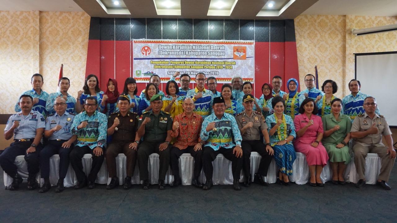 Berikut Kepengurusan Dekranasda Sanggau Periode 2019-2024