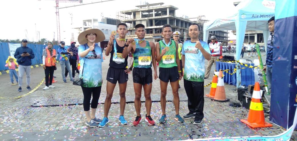 Atlet Kodam XII/Tpr Dominasi Juara Joy Run Walk Shop