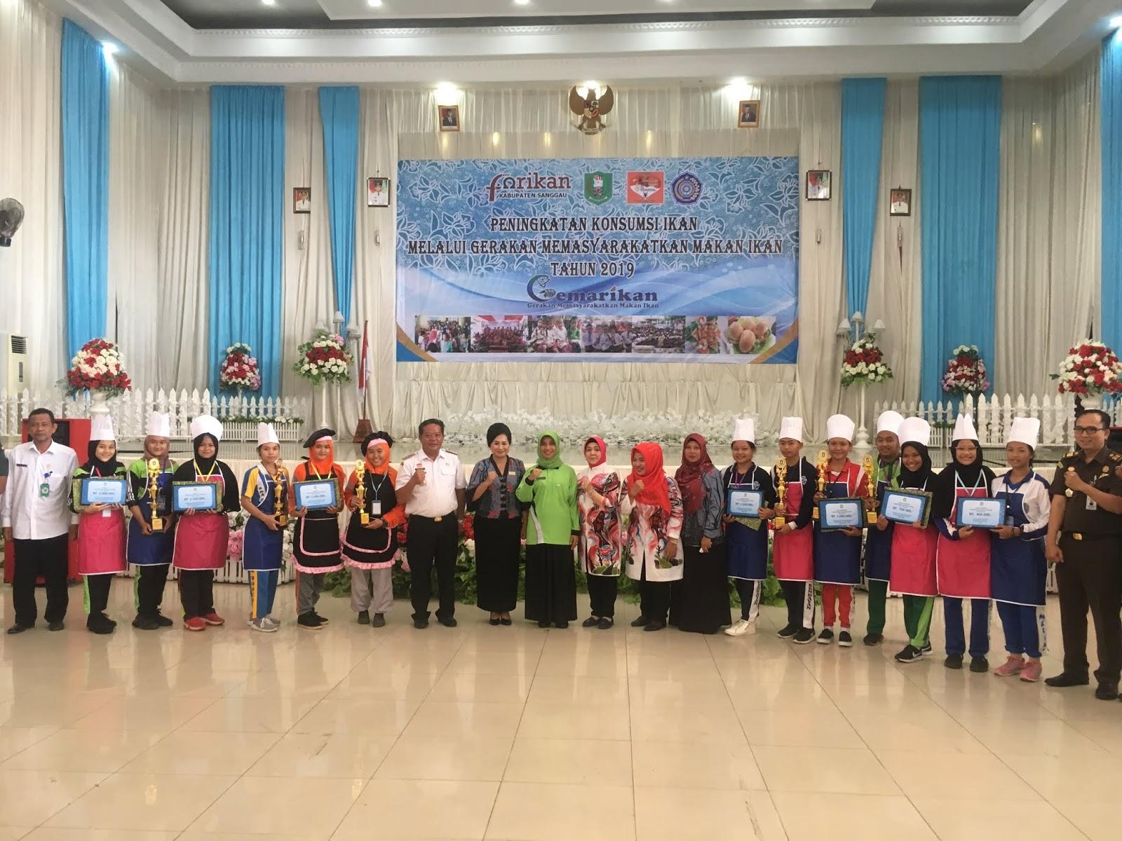 Berikut Pemenang Lomba Chef Junior di Sanggau