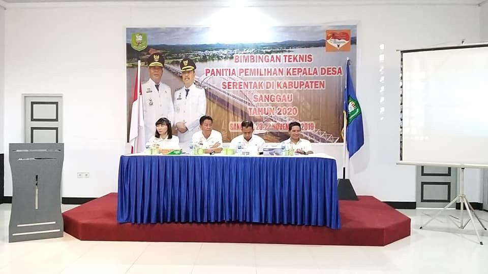 DPM Pemdes Sanggau Gelar Bimtek Jelang Pilkades 2020