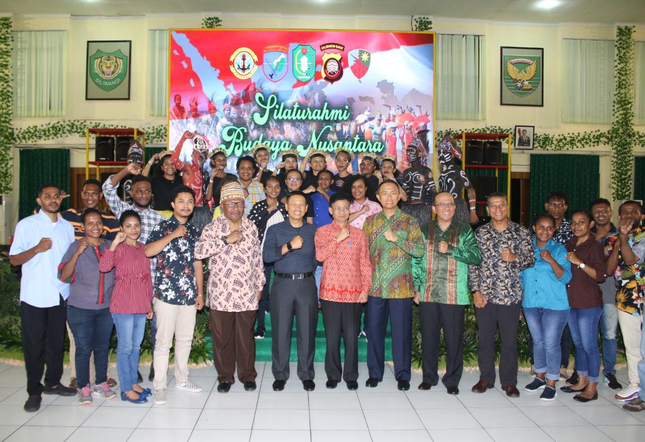 Silaturahmi Budaya Nusantara, Pangdam XII/Tpr : Budaya ini tidak boleh kita tinggalkan harus kita lestarikan