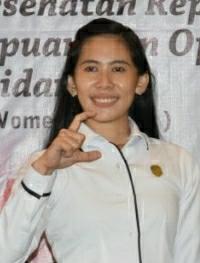 Anggota DPRD Kabupaten Sintang Anastasia, Hadiri MUSCAB IBI Kabupaten Sintang