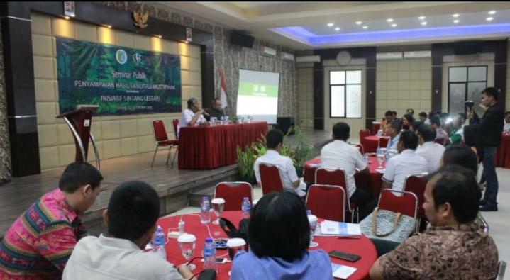 Rekomendasi Dari Seminar Publik, Pemkab Sintang Luncurkan Rencana Aksi Daerah Sintang Lestari