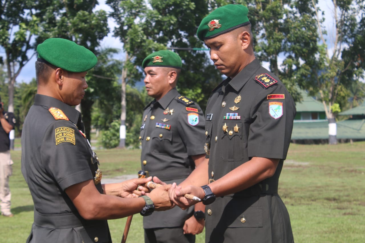 Pangdam XII/Tpr Pimpin Serah Terima Jabatan Danyonif Mekanis 643/Wns