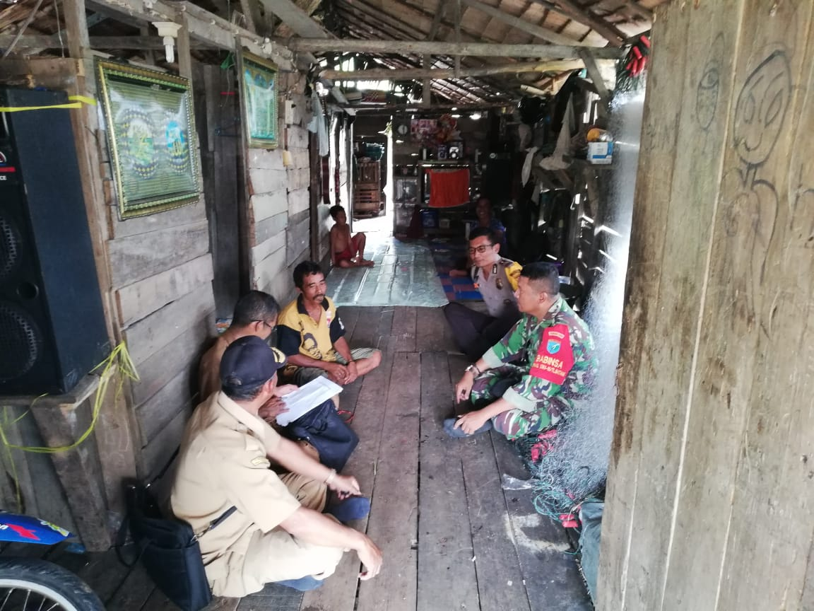 Cara Babinsa Alur Bandung Jaga Wilayah Binaan Kondusif