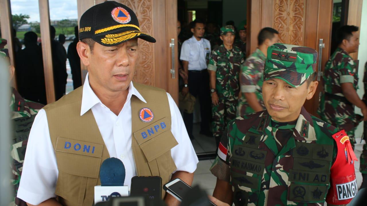 Beri Sosialisasi kepada peserta LKO Kodam XII/Tpr, Kepala BNPB Prioritaskan Pencegahan Karhutla