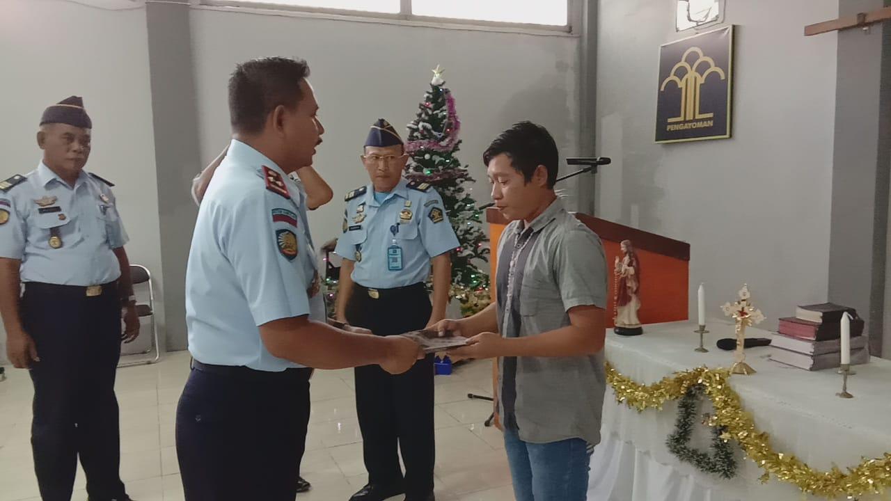 1 Orang Warga Binaan Permasyarakatan Sanggau Dapat Remisi Bebas di Hari Raya Natal.