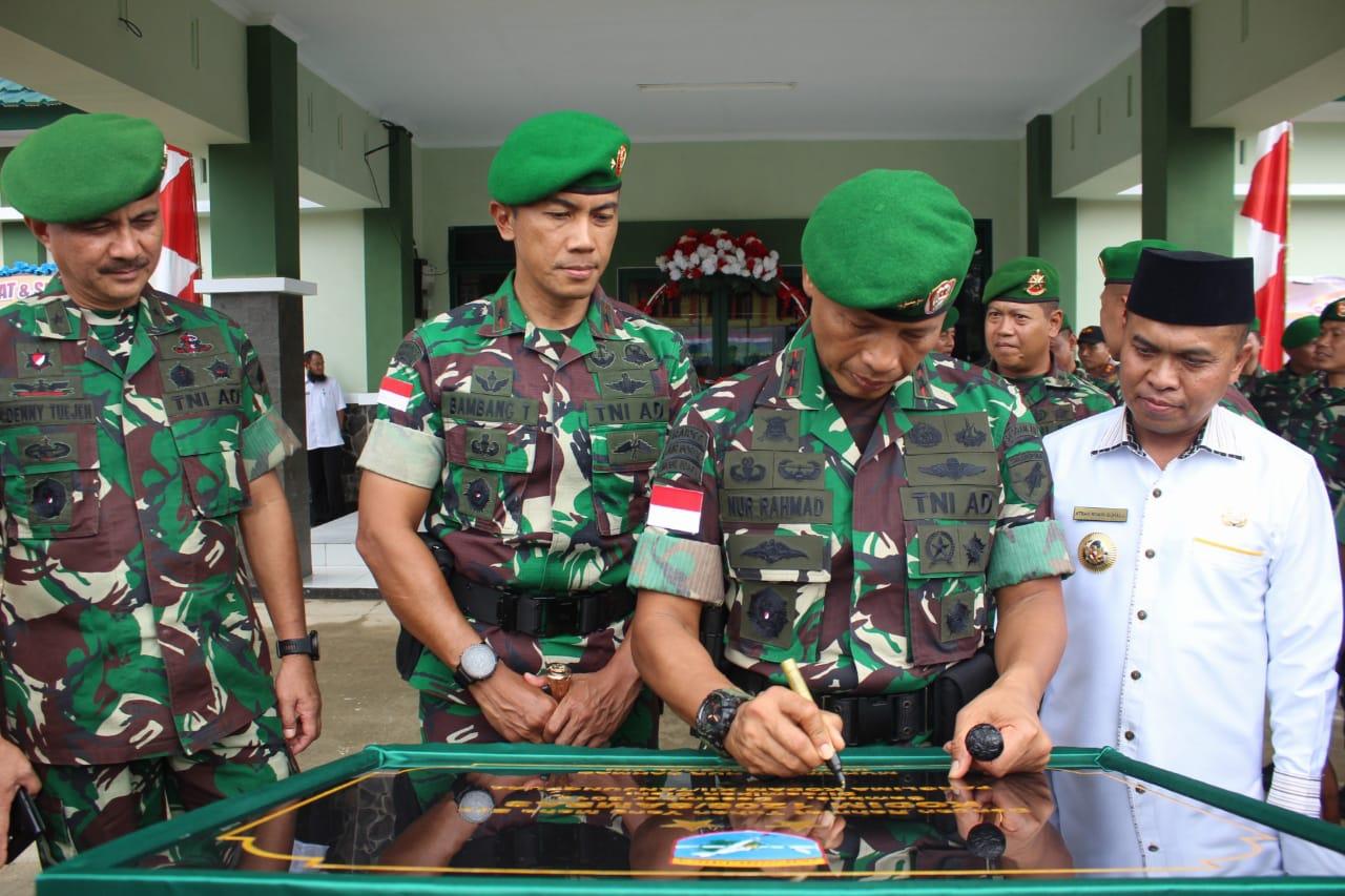 Pangdam XII/Tpr Resmikan Kodim 1208/Sambas