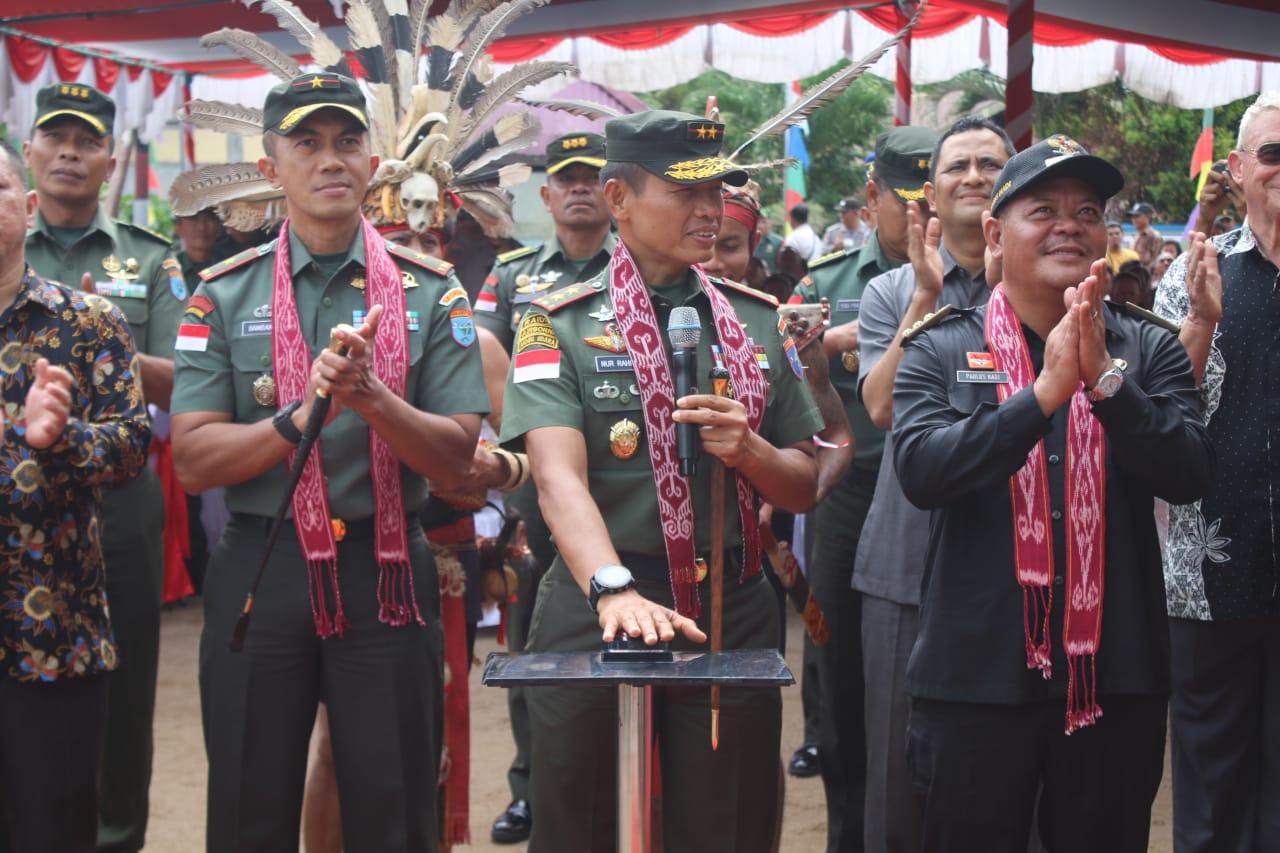 Pangdam Resmikan Radio Komunitas Suara Tanjungpura,Sebagai Hadiah Desa Mandiri