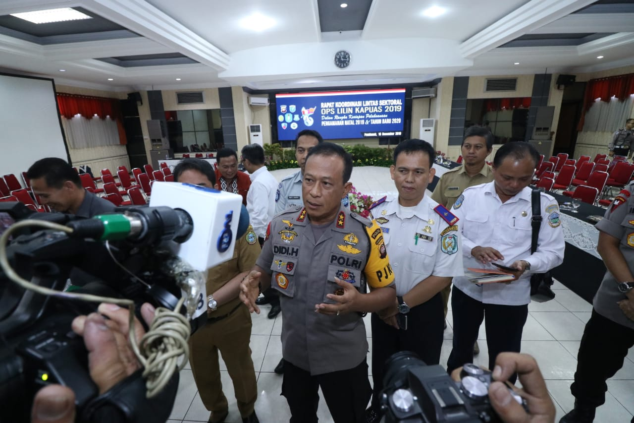 Polda Kalbar Adakan Rapat Koordinasi Lintas Instansi Siapkan Pengamanan Natal 2019 dan Tahun Baru