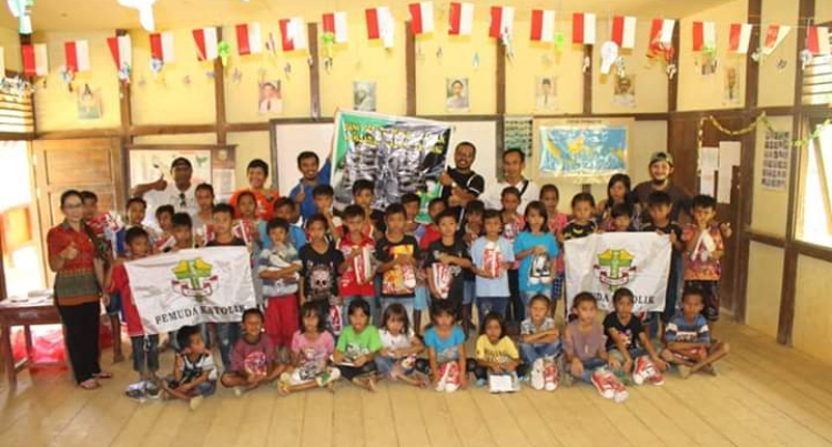 Pemuda Katolik Komcab Sanggau akan Salurkan Bantuan di Badat Baru dan Lama Desa Suruh Tembawang Kecamatan Entikong