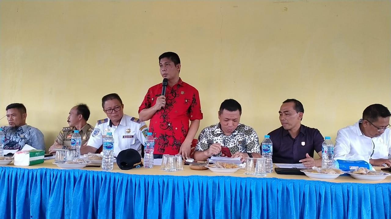 Pihak PT.MKS tidak Hadir,Dewan Komisi II Kecewa
