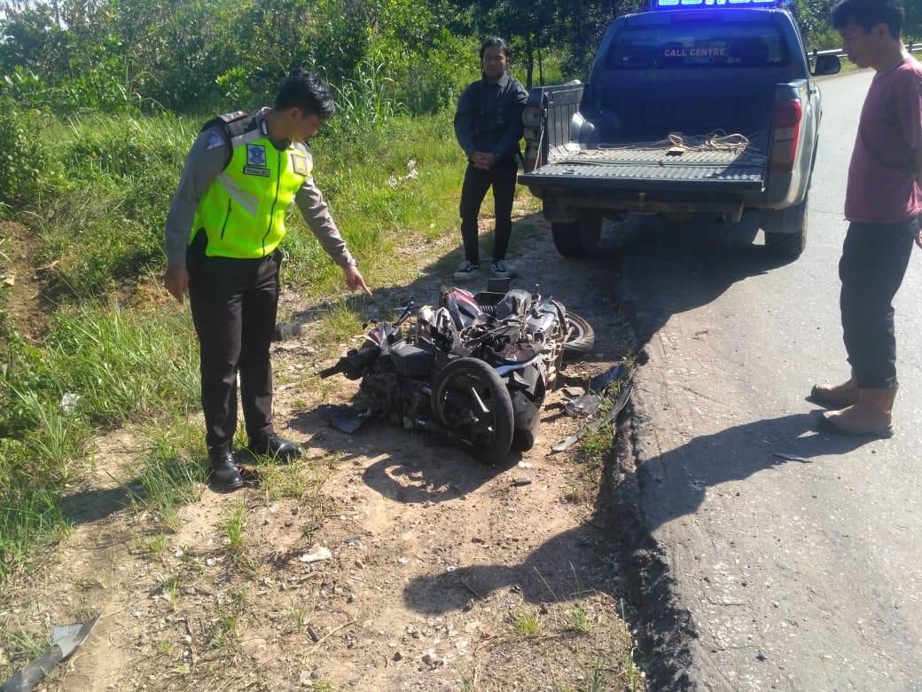 Tronton Vs Sepeda Motor, Pelajar Asal Ketapang Tewas di Jalan Trans Kalimantan